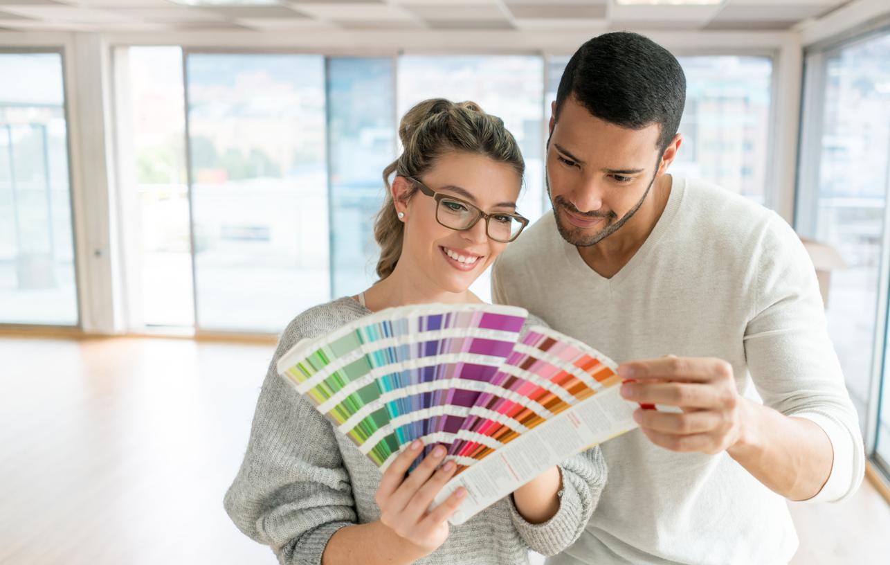 combinar cores na decoração