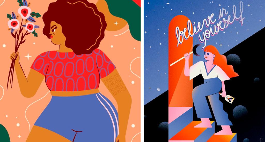 Ilustrações de Camila Rosa