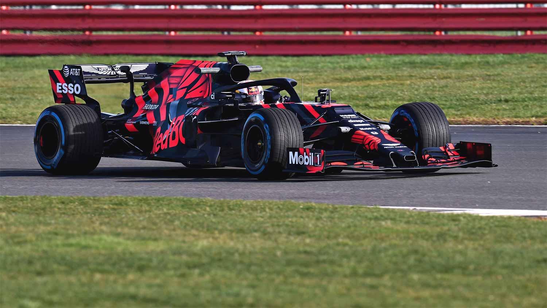 Carro da F1 da equipe Aston Martin Red Bull