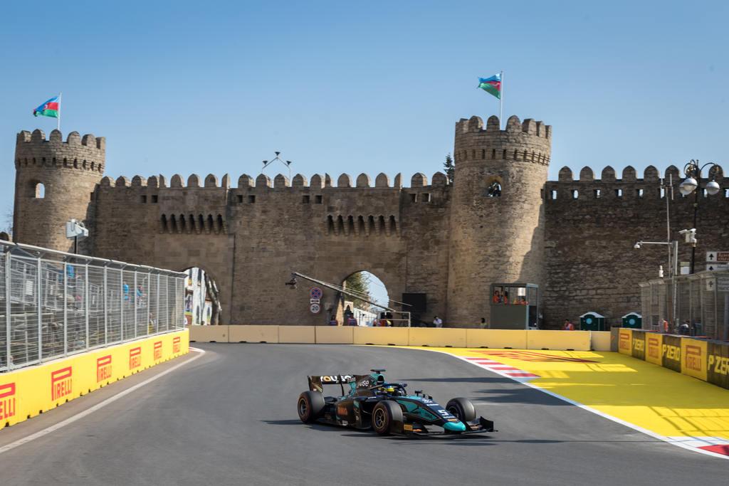 Sergio Sette em Baku pela f2 2019