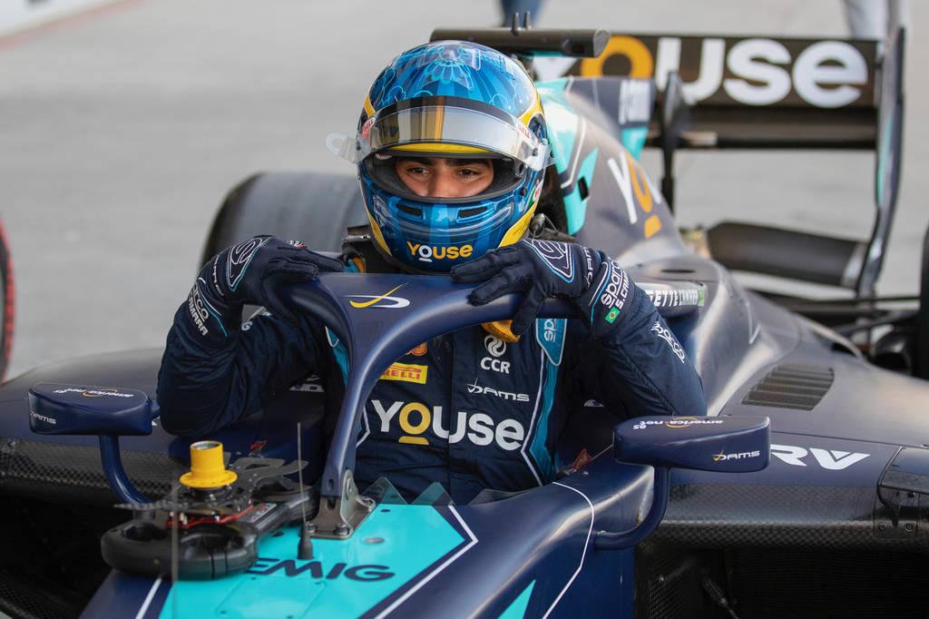 Sergio Sette na segunda etapa da F2 2019