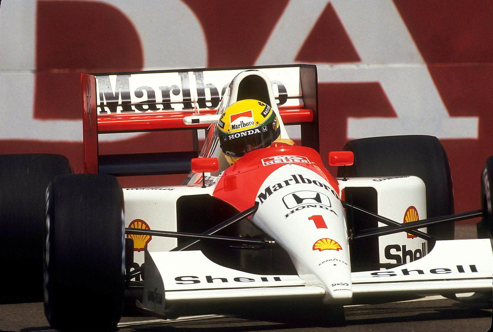 Ayrton Senna e segurança na f1